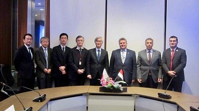 An initial agreement for cooperation between Benha University and Kyushu Institute of Technology, Japan