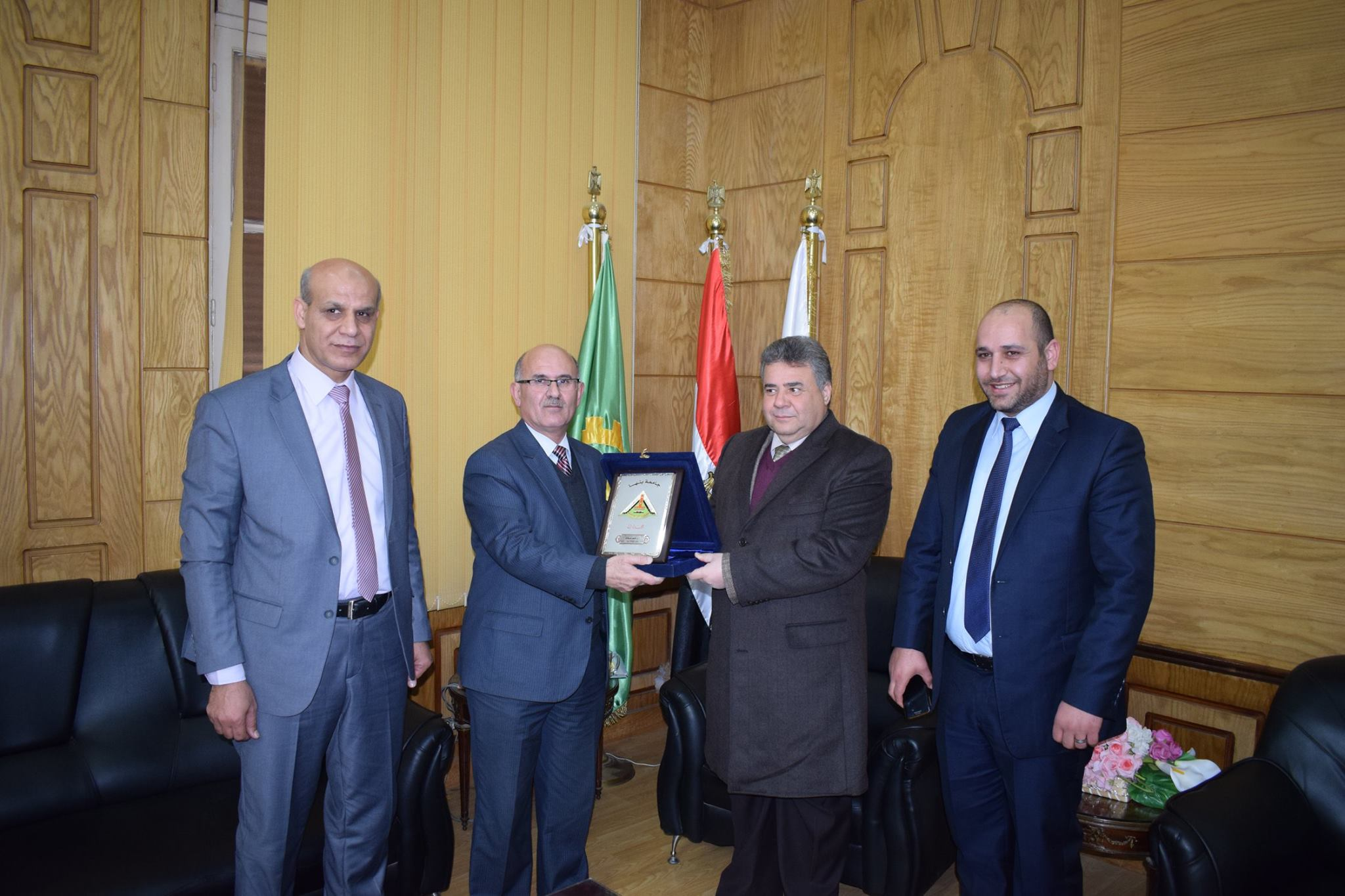 The establishment of the first Forum of Higher Education between Benha and Jordanian universities