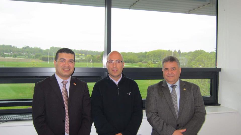 Day Two of the visit of Prof. ElSayed ElKady, President of Benha Univ to the UK