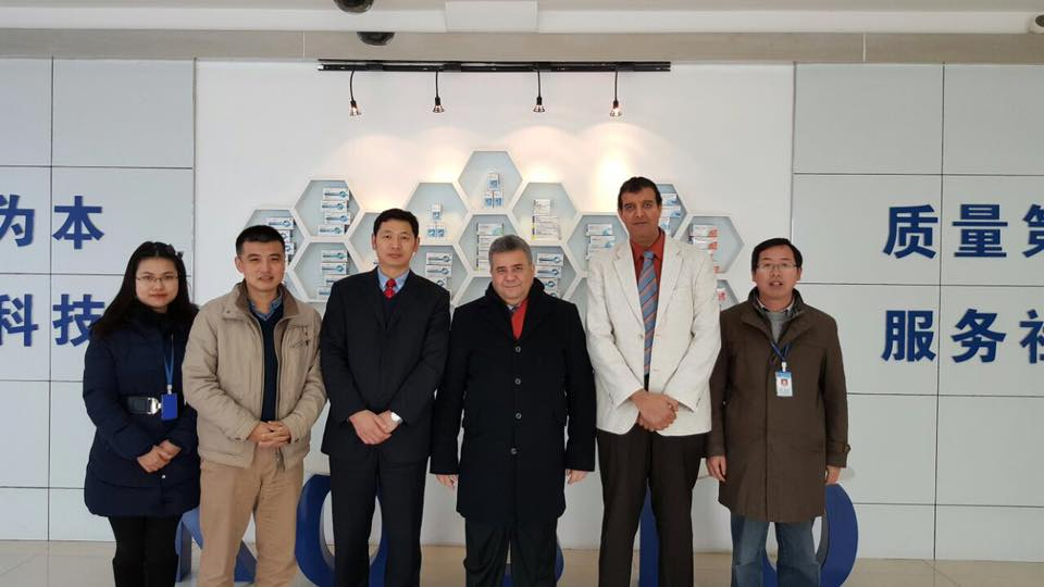 Prof. Elkady visit to Huazhong Agricultural University