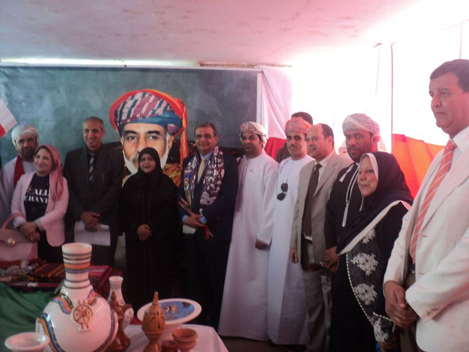 Omani cultural day in Benha University