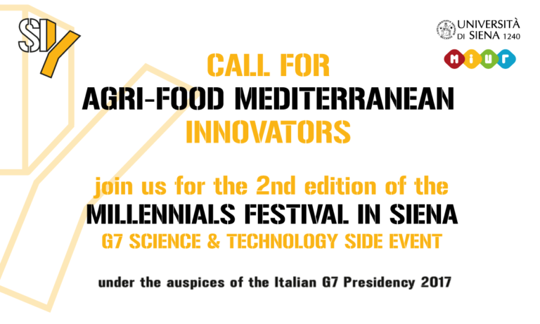 OPEN CALL FOR AGRI-FOOD MEDITERRANEAN INNOVATORS
