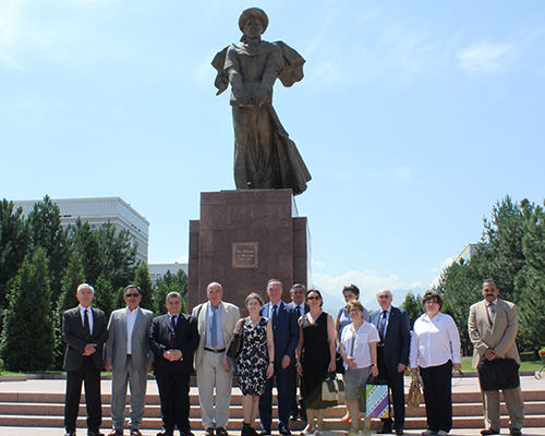 Prof.Elkady was in a tour in Elfaraby Campus University