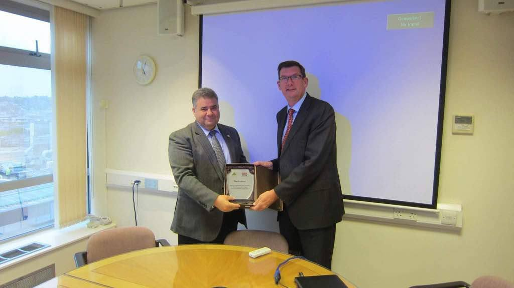 Visit of Prof. ElSayed ElKady, President of Benha University to The University of Surrey UK, 8-12 May 2017