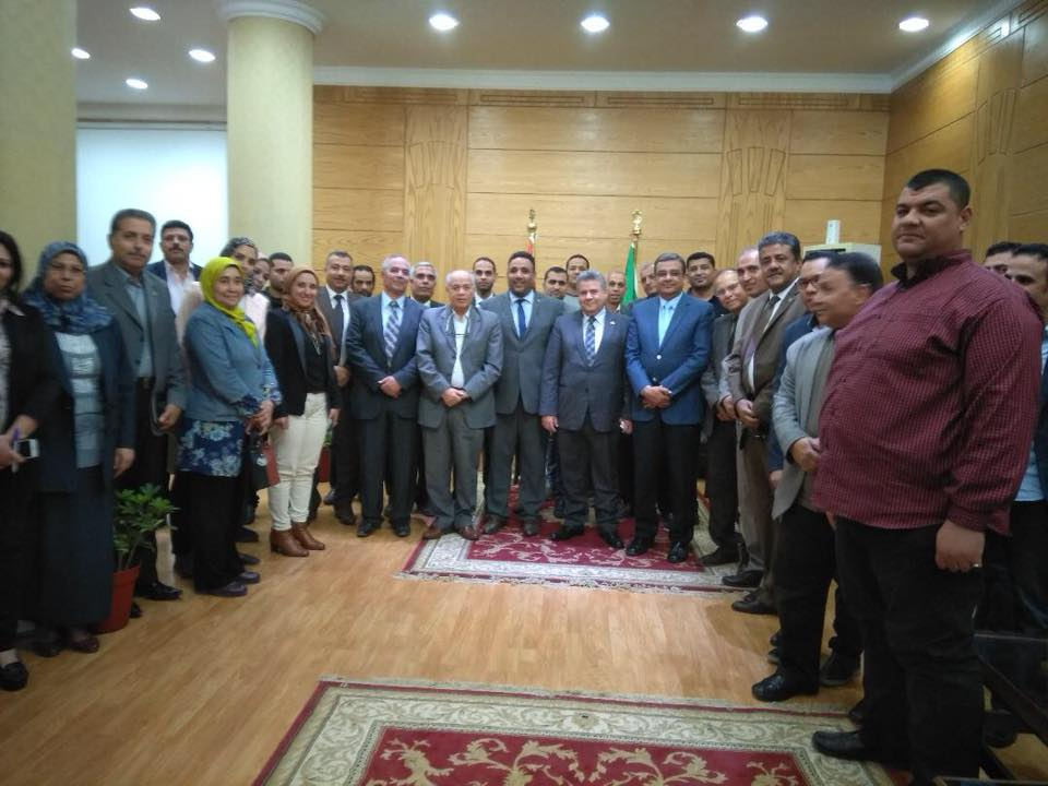 Benha first Egyptian university Receives ISO 9001: 2015